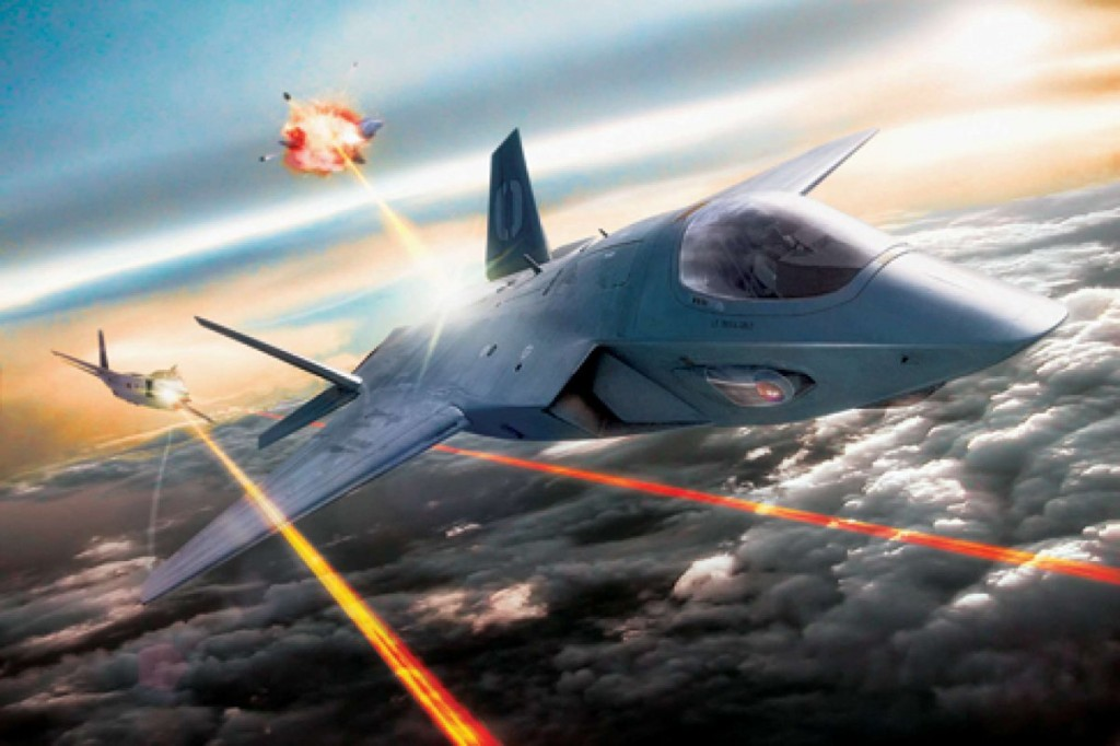 The Air Force will have combat lasers on its war planes by 2020