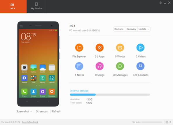 Mi PC Suite For Redmi Note 4 - 5